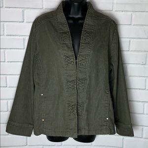 Adorable Green Lightweight Jacket.